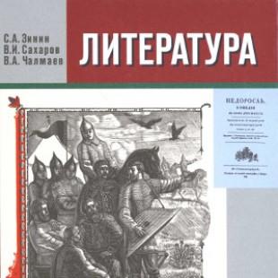 Литература 9 класс Зинин и Сахаров