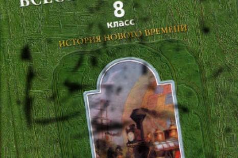 История 8 класс Данилов