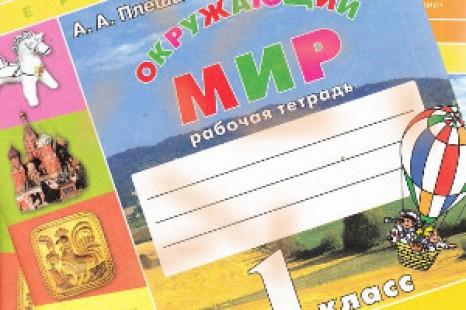 Окружающий мир 1 класс рабочая тетрадь Плешаков Новицкая