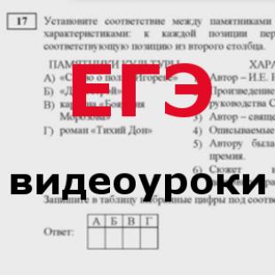 Подготовка к ЕГЭ русский язык видеоуроки