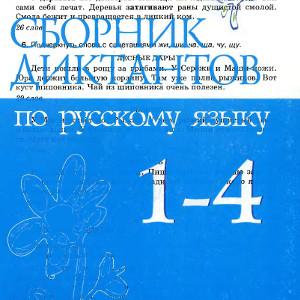 Сборник диктантов Русский язык класс Канакина скачать читать онлайн