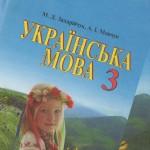 Українська мова 3 клас Захарійчук Мовчун