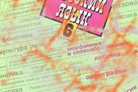 Русский язык Баранов 6 класс