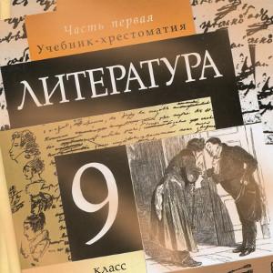 Литература 9 класс Курдюмова