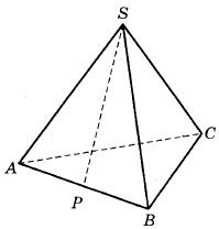 В правильной треугольной пирамиде SABC точка P - середина ребра AB, S - вершина. Известно, что SP = 4, а площадь боковой поверхности равна 24. Найдите длину отрезка BC.