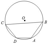 Два угла вписанного в окружность четырёхугольника равны 125º и 47º. Найдите меньший из оставшихся углов. Ответ дайте в градусах.