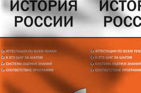 История России 7 класс Контрольно-измерительные материалы Волкова, Вако 2017